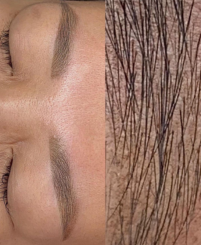 Перманентный макияж бровей азиатскому типу лица | Хабаровск