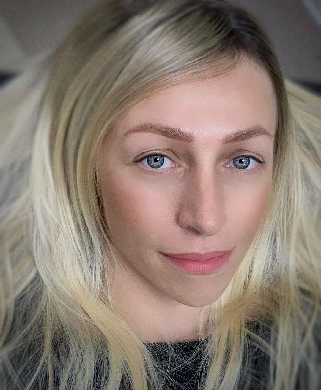 Пудровые брови спустя 2 года   Фото сразу после обновления цвета   Хабаровск