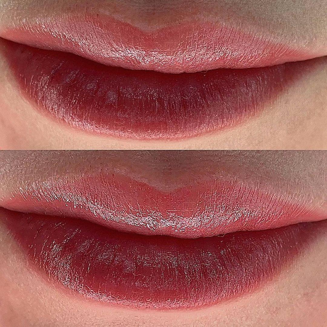 Перманентный макияж губ в Хабаровске | Фото и видео | Глущенко Оксана