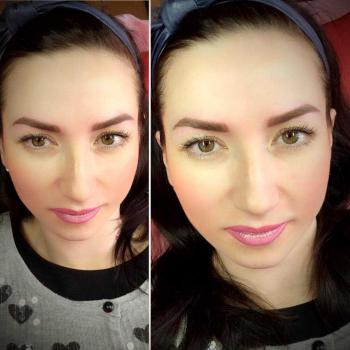 Отзыв, перманентный макияж бровей, татуаж, makeup, Хабаровск