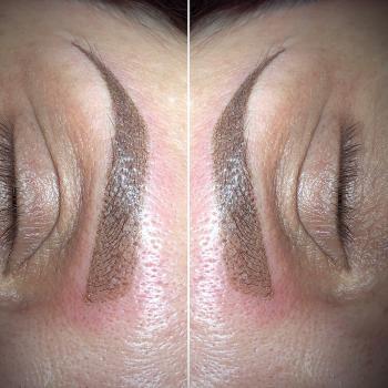 Перманентный макияж бровей в деликатном возрасте Хабаровск