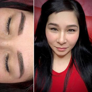 Пудровые брови | Азиатская внешность | Хабаровск | Глущенко Оксана