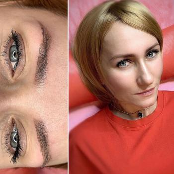 Перманентный макияж бровей    После первичной процедуры   Хабаровск