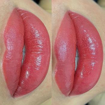 Перманентный макияж губ | Нюдовые губки | Хабаровск