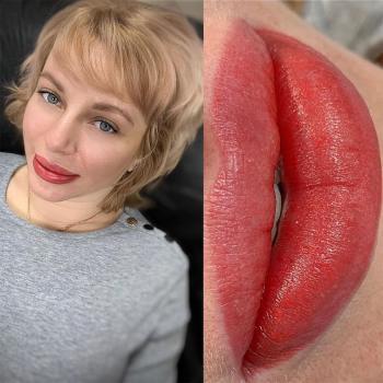 Отзыв клиента   Пудровые брови бровей и ПМ губ   Хабаровск   Глущенко Оксана