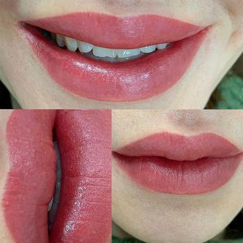 Перманентный макияж губ с растушевкой | Хабаровск