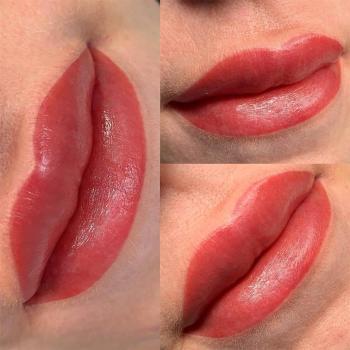 Отзыв клиента   Перманентный макияж губ   Хабаровск   Глущенко Оксана