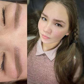 Пудровые бровки   Азиатская внешность   Хабаровск