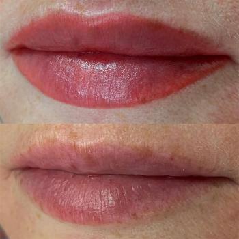 Отзыв клиента о работе   Перманентный макияж губ в Хабаровске