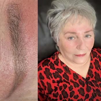 Отзыв клиента   Перманентный макияж бровей в деликатном возрасте в Хабаровске