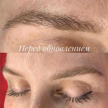 Пудровым бровям полтора года   Глущенко Оксана