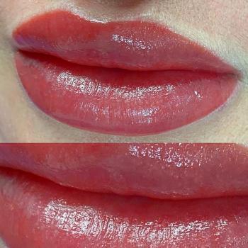 Перманентный макияж губ   Хабаровск   Глущенко Оксана