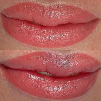 Перманентный макияж губ   Глущенко Оксана