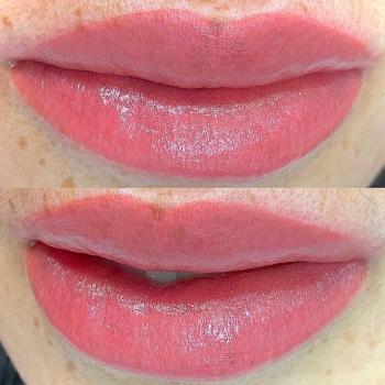 Нежные нюдовые губы   Перманентный макияж   Хабаровск