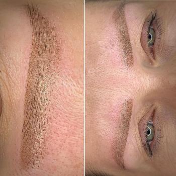 Брови | Перманентный макияж | Сразу после коррекции | Хабаровск
