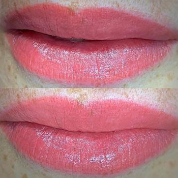 Сделать коррекцию перманентному макияжу губ в Хабаровске