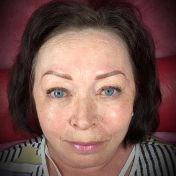Отзыв клиента   Перманентный макияж бровей в деликатном возрасте   Хабаровск   Глущенко Оксана